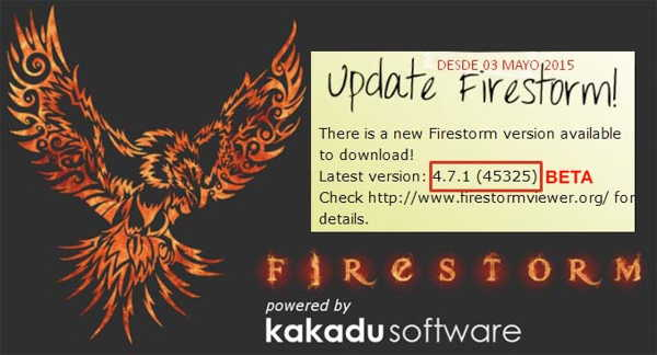 UPDATE-FIRESTORM-BETA